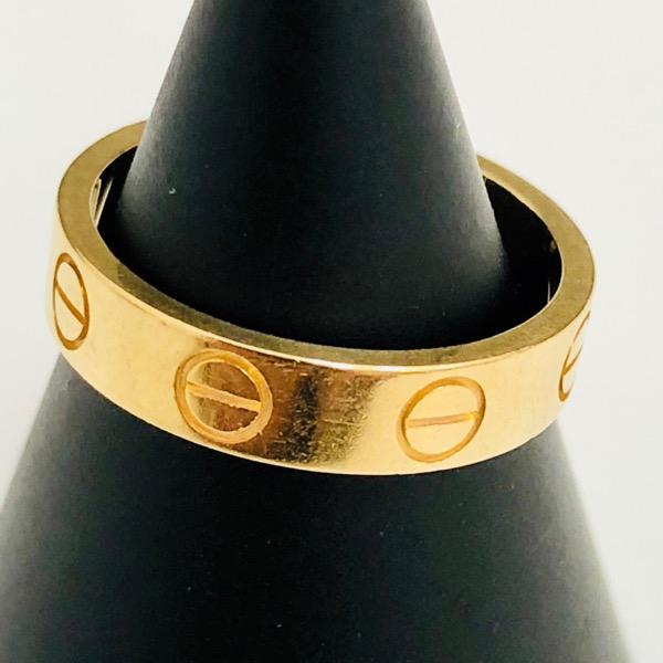 Cartier カルティエ ラブリング K18 イエローゴールド
