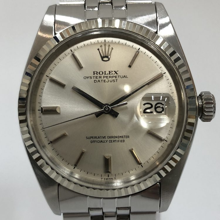 ROLEX ロレックス デイトジャスト 1601 オートマ 腕時計