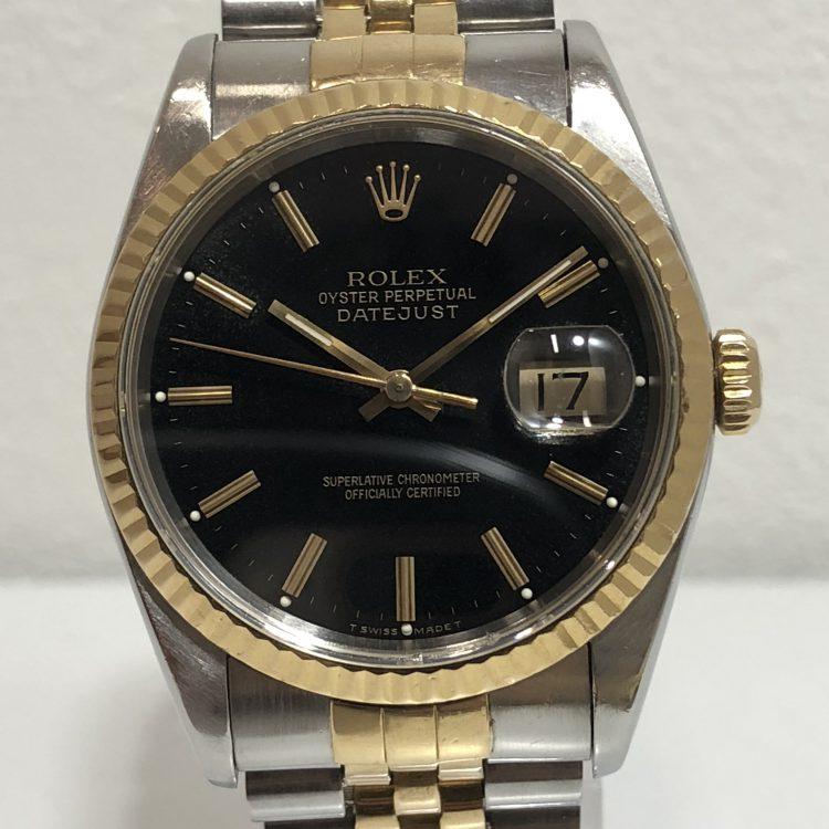 ROLEX ロレックス デイトジャスト 16233 コンビ 腕時計