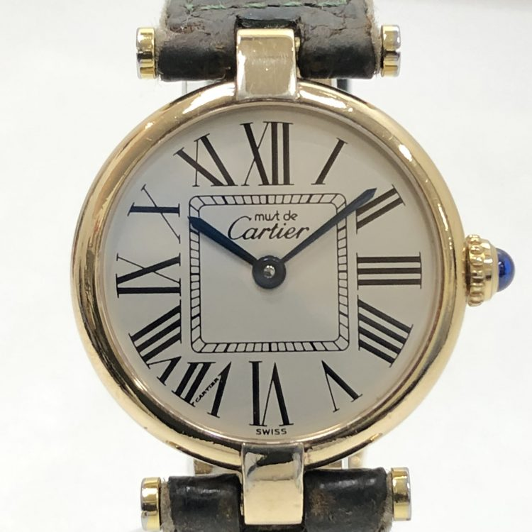 Cartier カルティエ 腕時計 レディース クオーツ